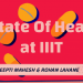 State of Healthcare at IIIT